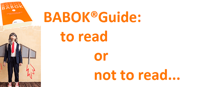 BABOK®Guide для начинающих бизнес-аналитиков: 5 причин против и 3 - за